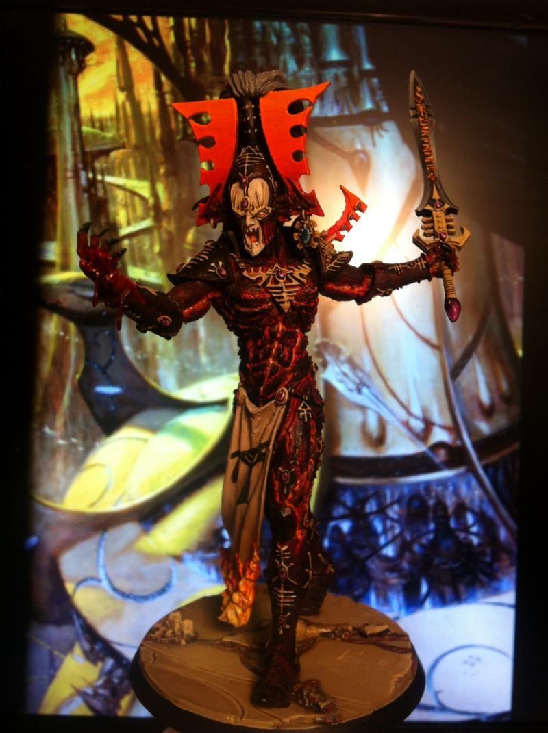Eldar Avatar, Khaine | 40k | Table lamp, Dark eldar, Avatar