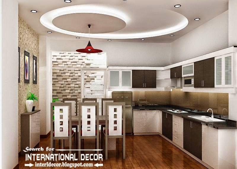 10 unique false ceiling designs made of gypsum board for Balcony pop design