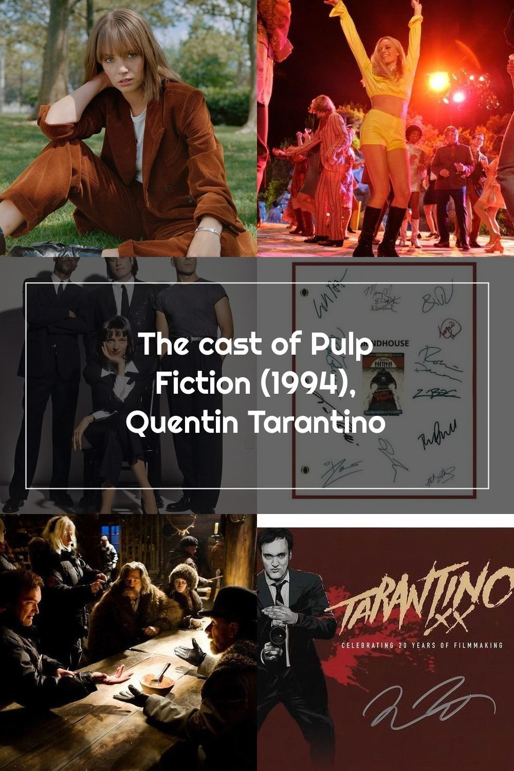 The Cast Of Pulp Fiction 1994 Quentin Tarantino In 2020 Pulp Fiction Quentin Tarantino Fiction