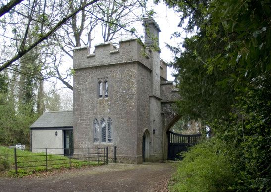 Anne s Grove Miniature Castle Irish Landmark Trust You can stay