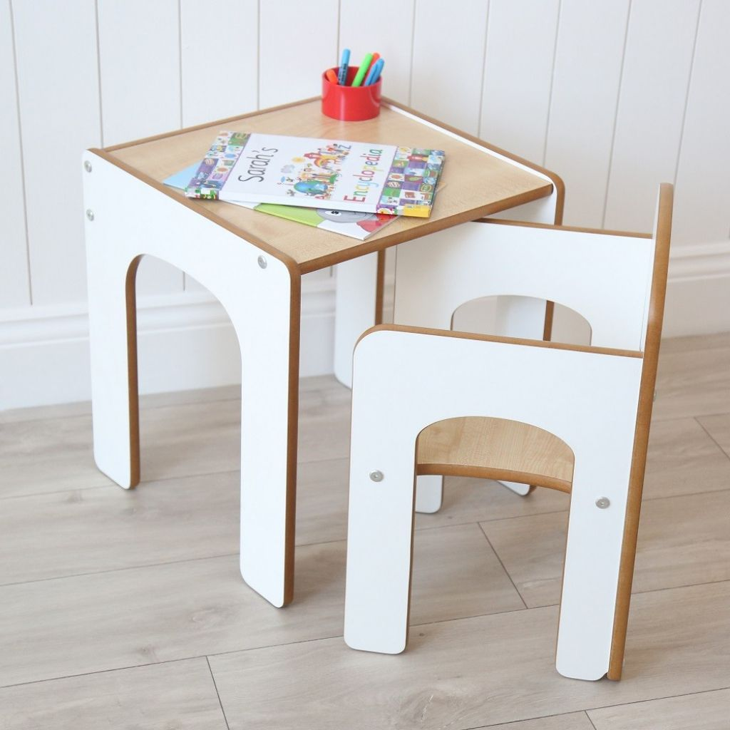 weißer Holz Schreibtisch Stuhl benutzerdefinierte home office Möbel ...