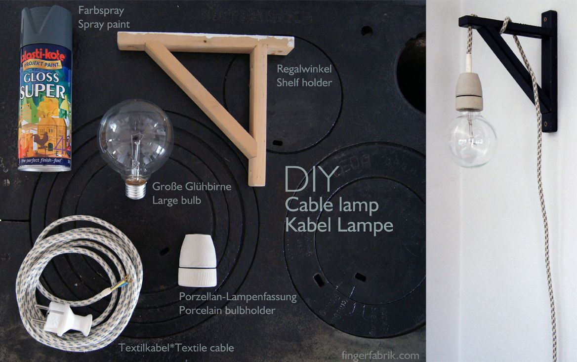 Diy Cable Lighting. 14 Stylish DIY Pendant Lights (with Tutorials ...