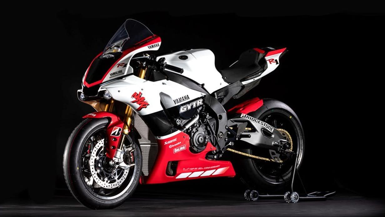 Yamaha Releases Ultra Exclusive R1 Gytr Track Day Special Yamaha Yzf R1 Yamaha Yzf Yamaha