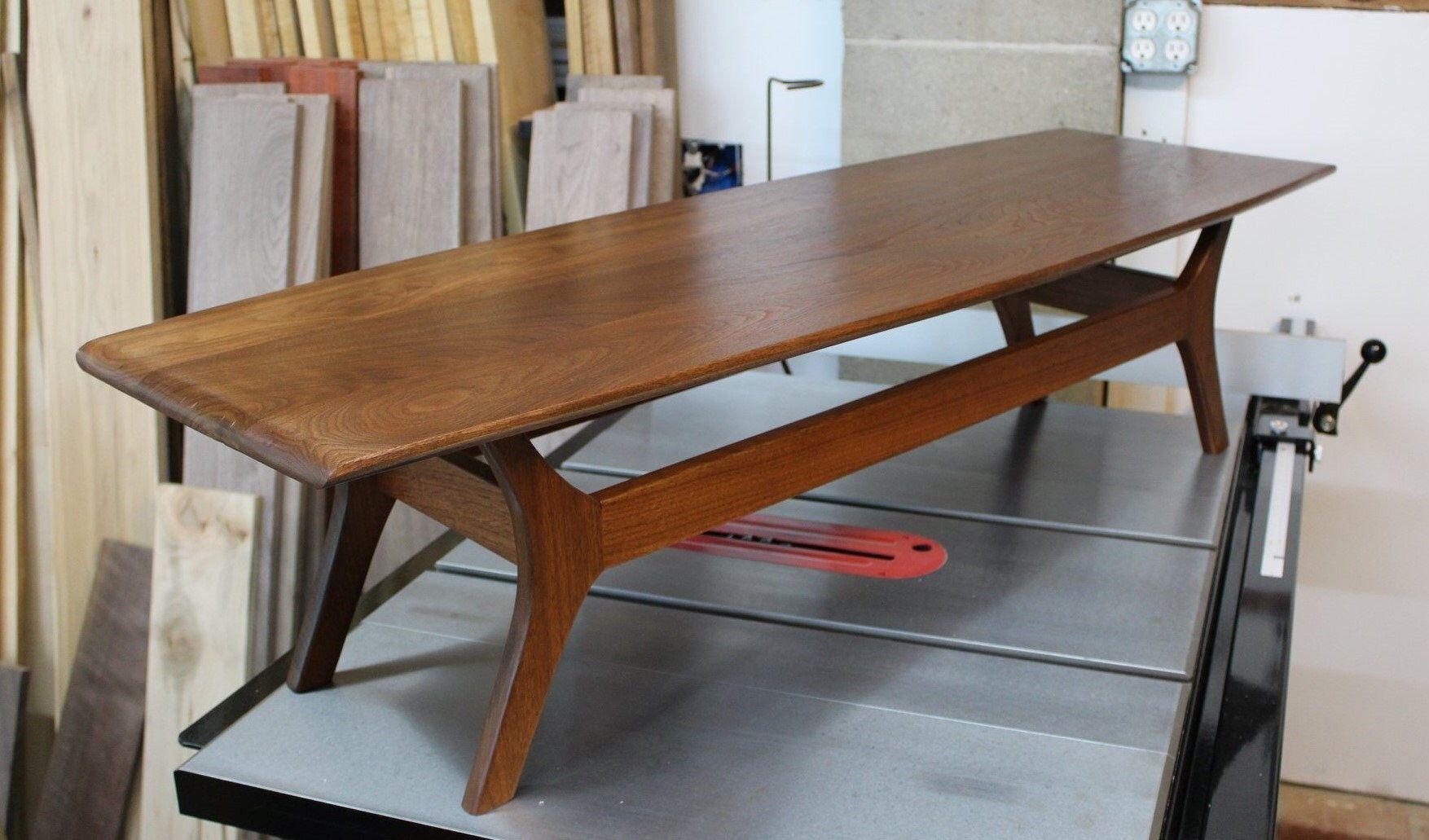Best Of Mid Century Surfboard Coffee Table