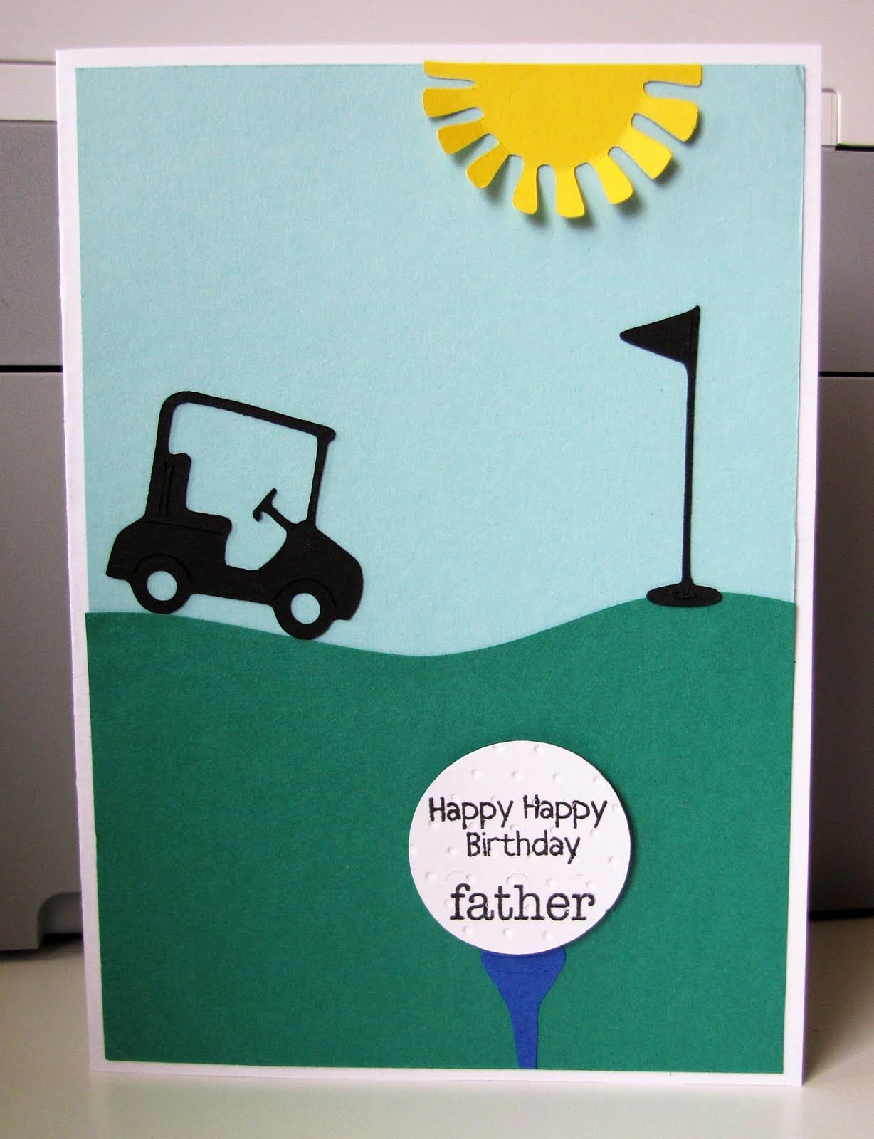Jen S Happy Place May 2011 Golf Card Ideas Pinterest Golf