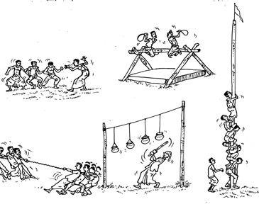Sinhala and Tamil New Year Games in Sri Lanka– Aurudu Kreeda ...