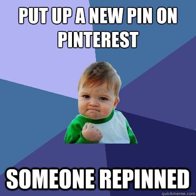 Pins Memes Humor Joke Pride In Pinteresting Fun Funny Put Up A New Pun Someone Repinned Fist Baby Meme Success Kid Funny Laugh Out Loud