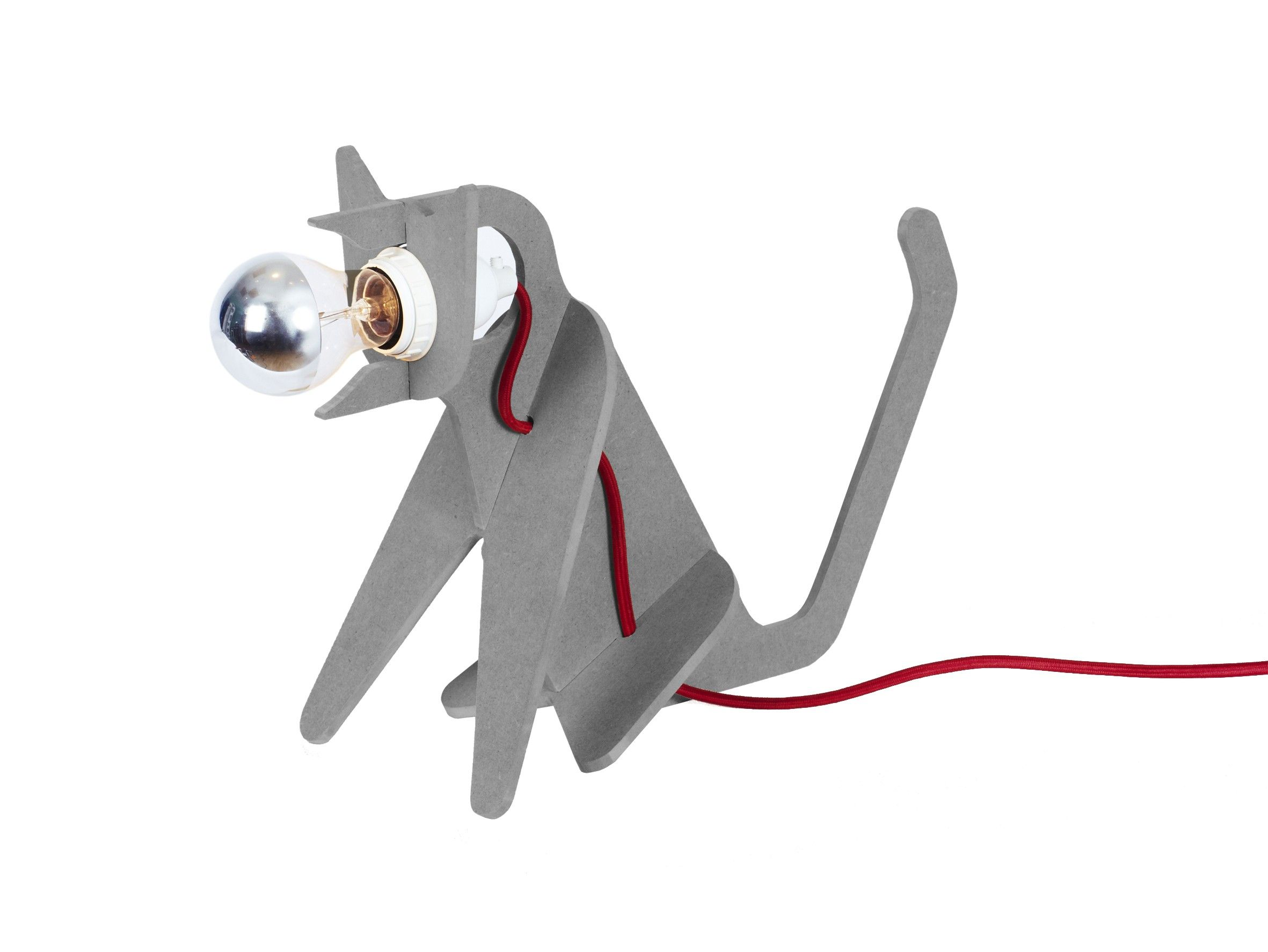 Lampe Get Out CAT Gris Clair ENO Studio maison