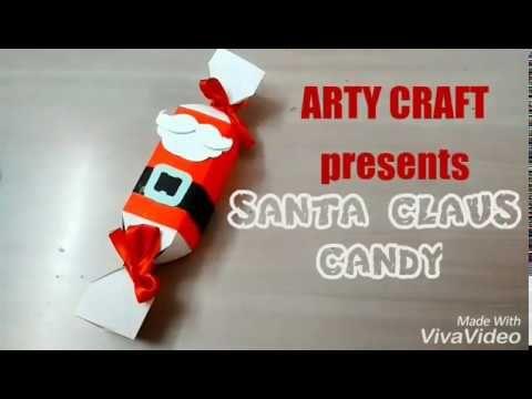 Christmas Gift Ideas Santa Claus Candy DIY Christmas Crafts