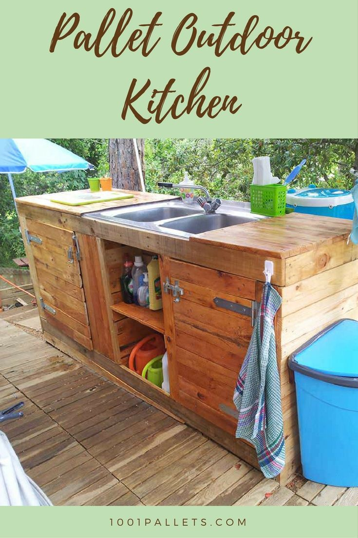 Pallet Outdoor Kitchen | Pallets, Kitchens and Pallet projects on pallet outdoor kitchen island, pallet bar ideas, pallet living room ideas, pallet hot tub ideas, pallet porch ideas, pallet storage ideas, pallet outdoor art, pallet bedroom ideas,