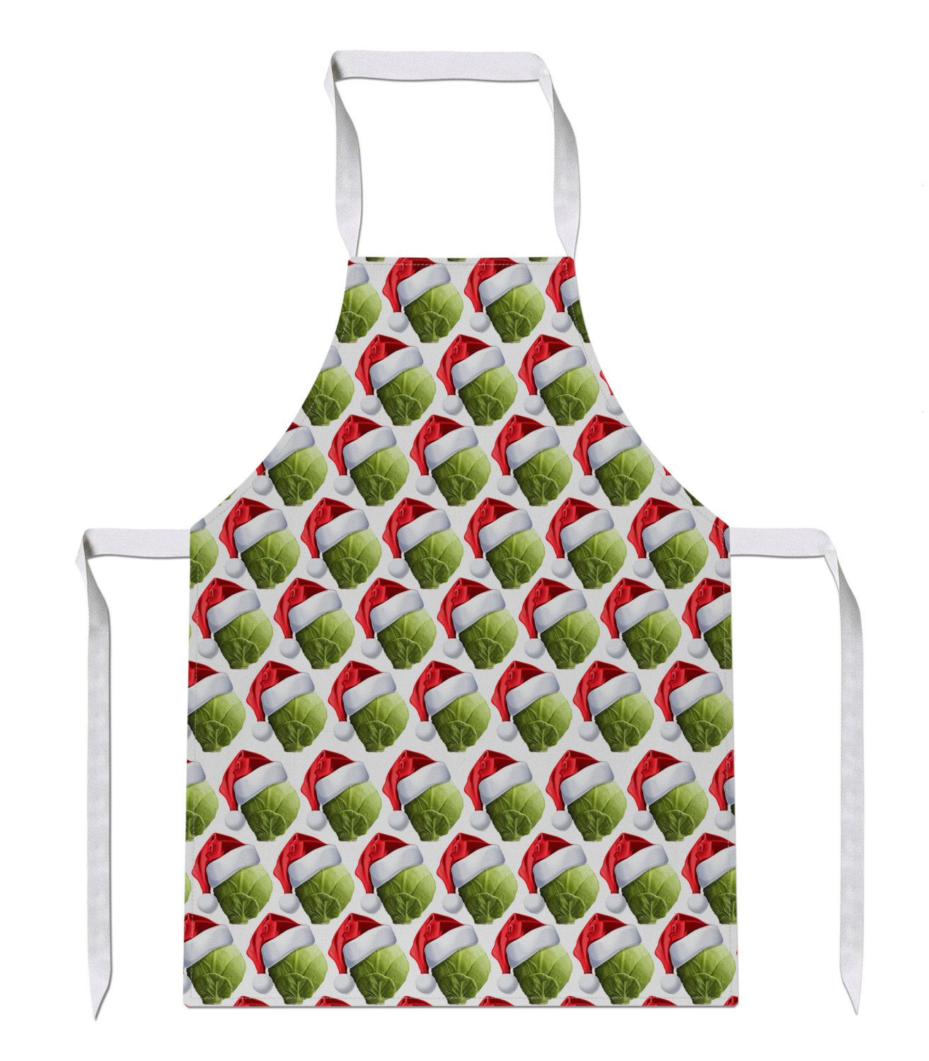SPROUT Christmas HAT All Over Luxury Novelty Funny APRON Gift