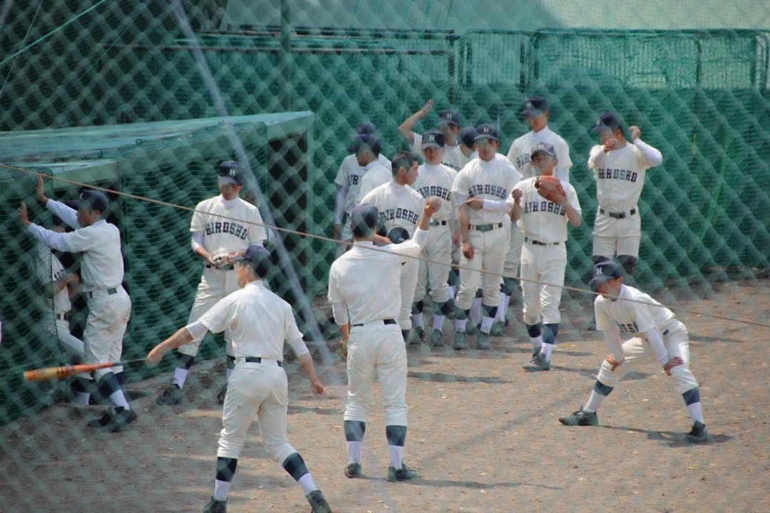 Mr.bonjinはInstagramを利用しています:「がんばれ広商! #広商#広島商業高校#高校野球」