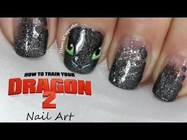 Wedding Nail Designs How To Train Your Dragon Nail Art 2029094