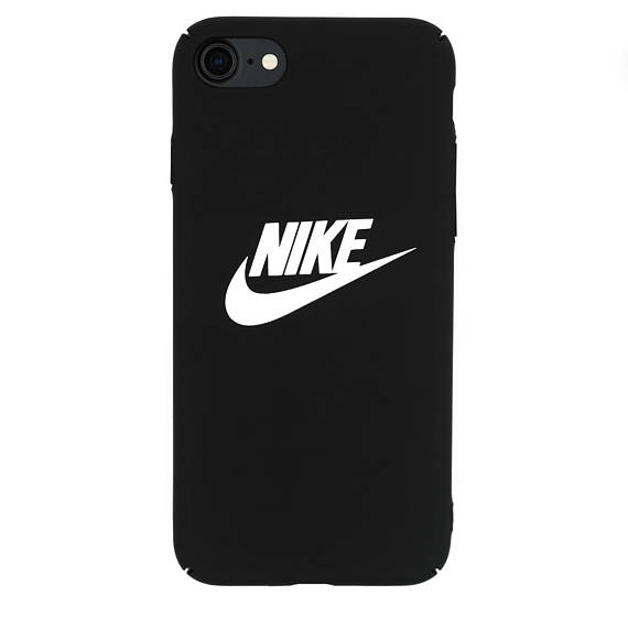 super popular 41df4 7ee12 Nike Logo Protective Premium Hard Case for Apple iPhone X 7/7 Plus 8 ...