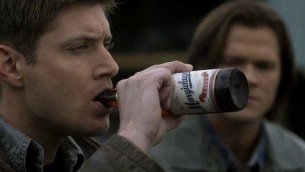 dean drinking beer | Jensen