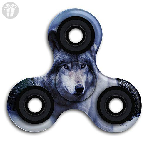 HIADIGS Wolf Hand Spinner Toys Tri Spinner Fid s Spinners Game
