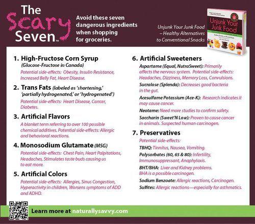 top 7 ingredients to avoid
