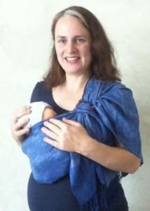 Quickly Make A No Sew Ring Sling Using A Sturdy Scarf Pashmina Or