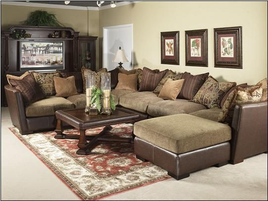 Costa mesa 7 piece sectional sofa by fairmont designs a for 7 ft sectional sofa