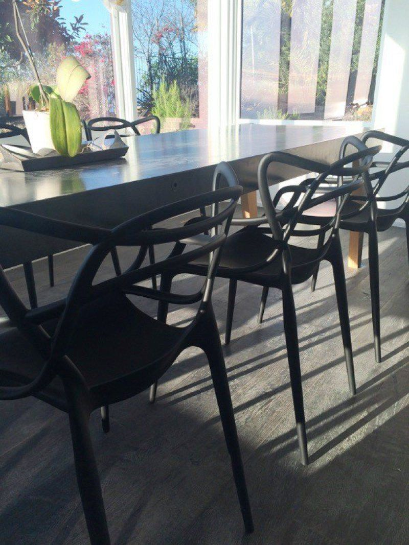 philippe starck masters chair in our malibu home remodel dining