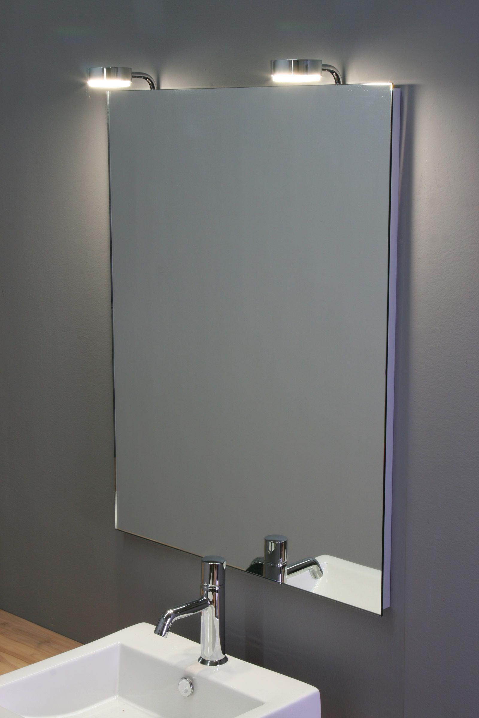 Led Spiegel Leuchte Dribb Kristallspiegel Basic Runde Spiegelleuchte Led Spiegel Badezimmer Led Lampen Bad