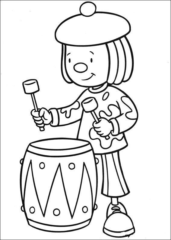 Dibujos para Colorear Jo Jo\'s Circus 9 | Libro Colorear | Pinterest