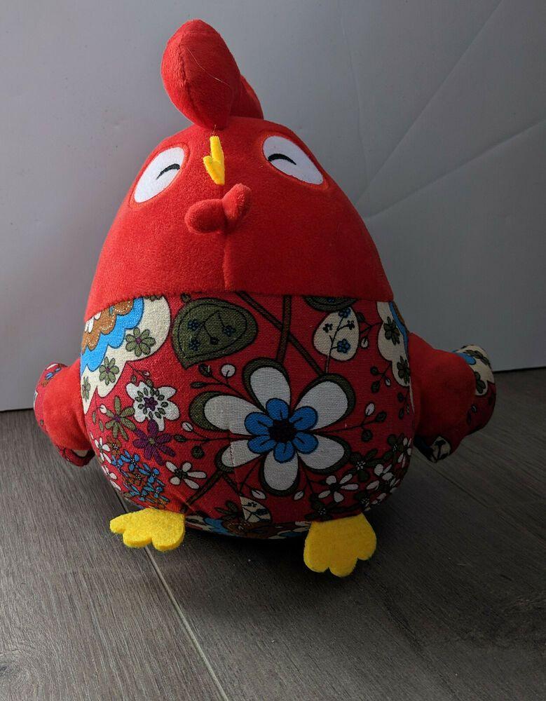 Details About Popova Chicken Year Of Good Fortune Big Rooster Plush Toy Bobowa Zodiac Chicken With Images Big Rooster Plush Toy Toys