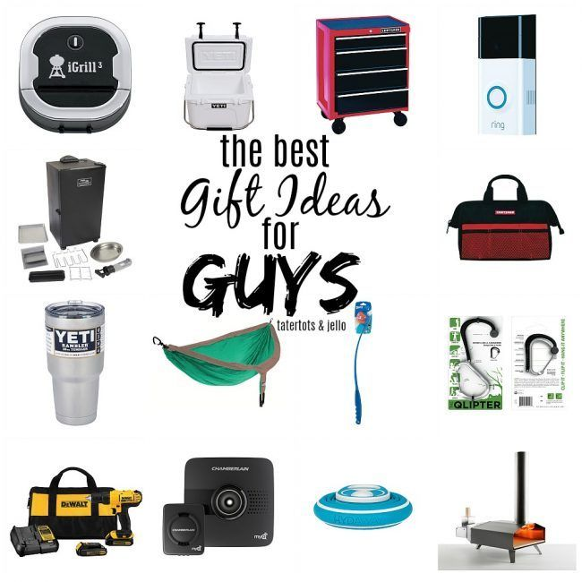 dd5fc1602c363 The Best Holiday Gift Ideas for Guys - tons of gifts ANY guy would ...