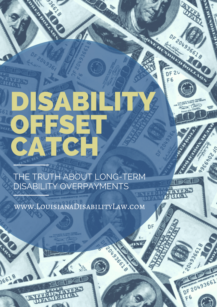 The Disability Offset Catch | Disability insurance, Long ...