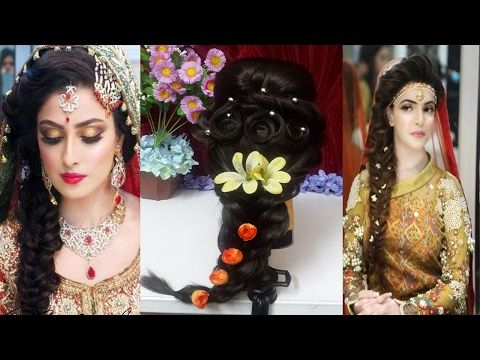 I Mehndi Hairstyles : Youtube hairstyles mehndi indian