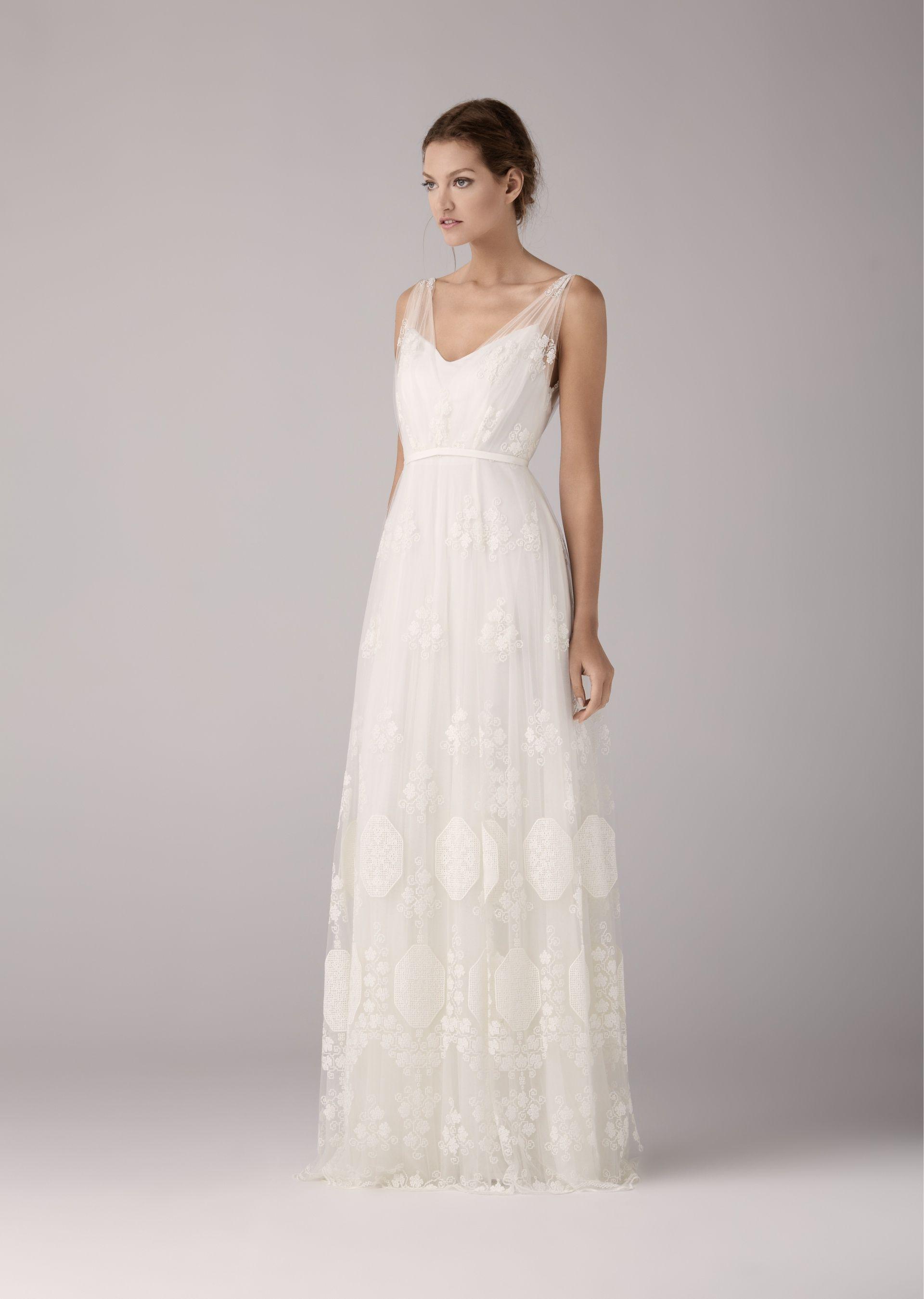 Brautkleid aus Spitze, romantisch, Hochzeit | Hochzeit ...