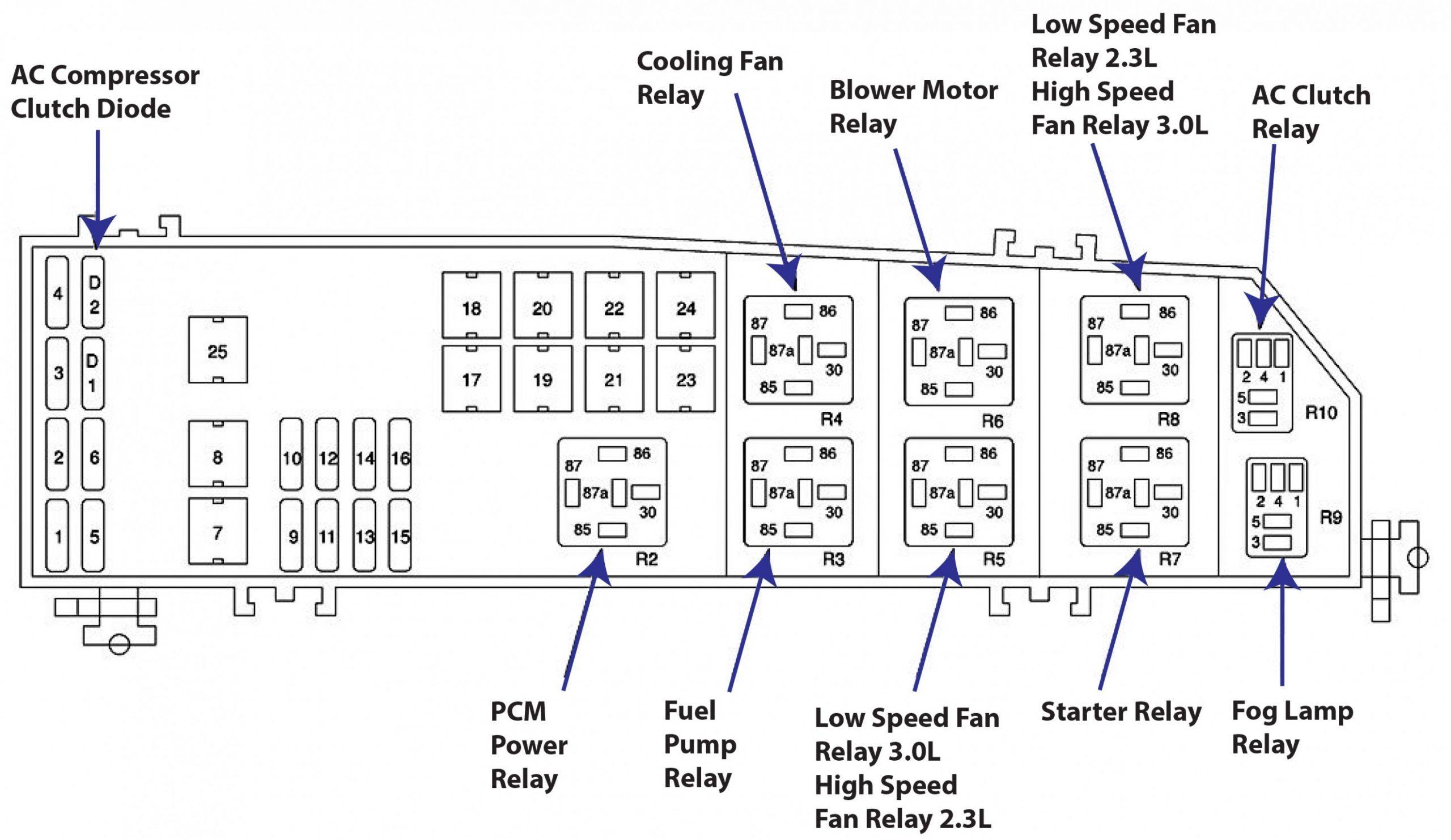 Engine Diagram 10 Ford Escape Manual Di