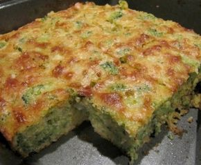 broccoli cornbread 1 box jiffy corn muffin mix 3 beaten eggs 1