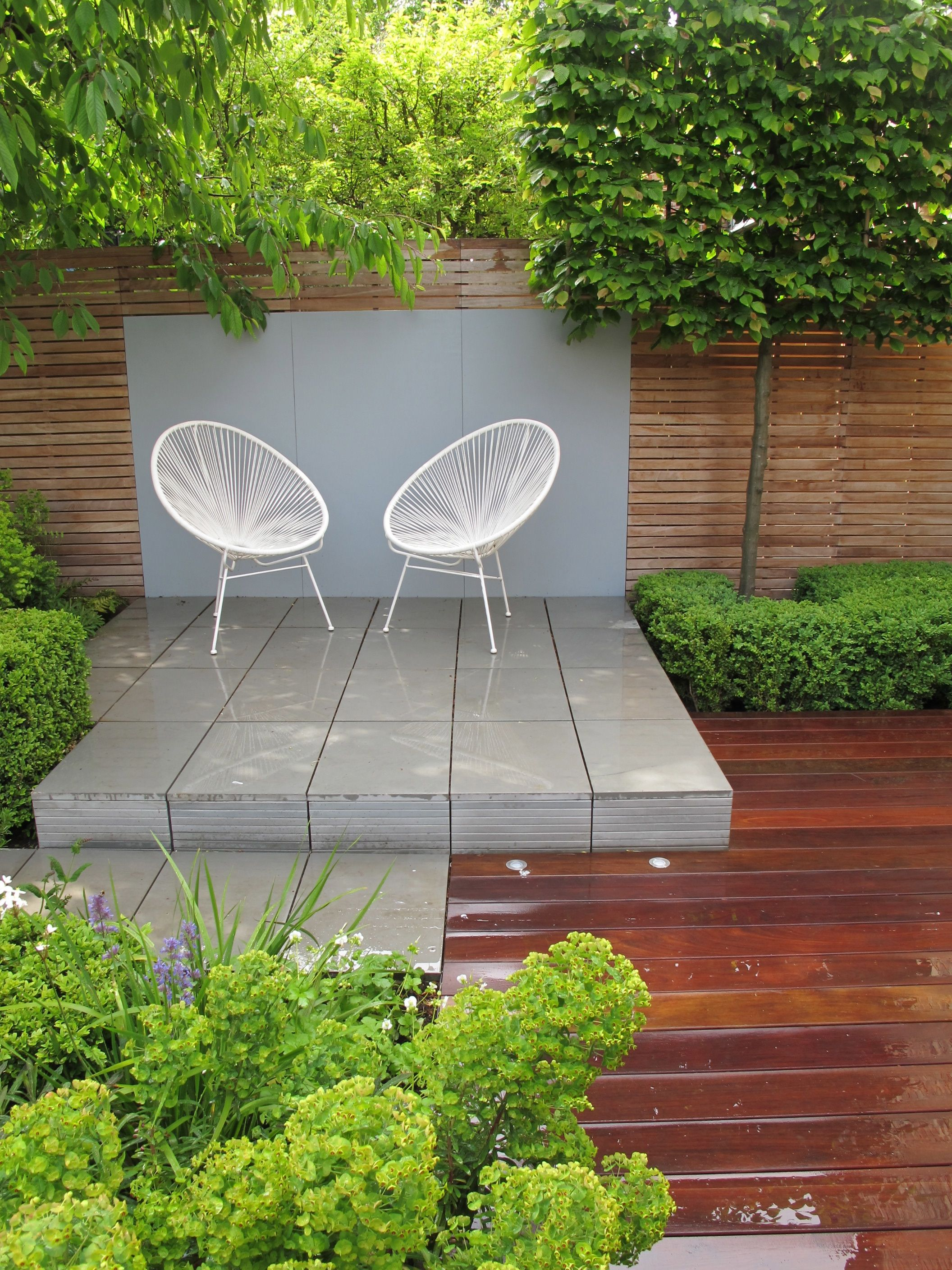 North London garden designed by Lucy Willcox as featured on Alan Titchmarsh s show Love Your