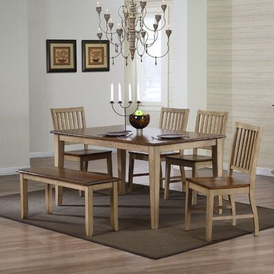 Huerfano Valley 6 Piece Dining Set Dining