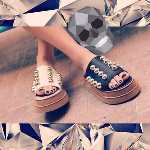 4357537268e34 Sandalias Zapatos Flecos Bajas Mujer Moda Verano 2018 -   599