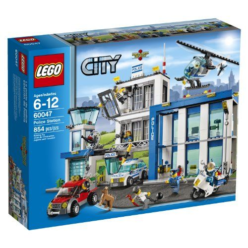 Lego City Police 60047 Police Station Is The Best Gift For Any Child That Loves Playing Cops And Robbers W Lego Police Lego City Police Station Lego City Sets