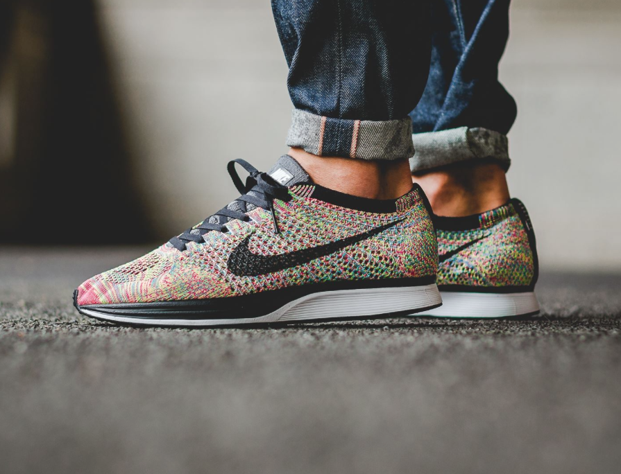 b01856dd0145e ... discount code for the nike flyknit racer rainbow debuts tomorrow 853a3  4ae67