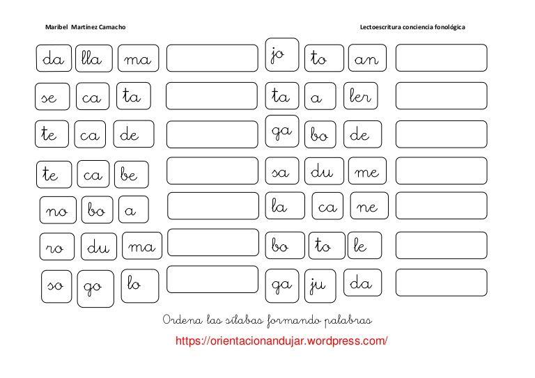 Pin by Iris Bocanegra on Phonemic Awareness ESPANOL