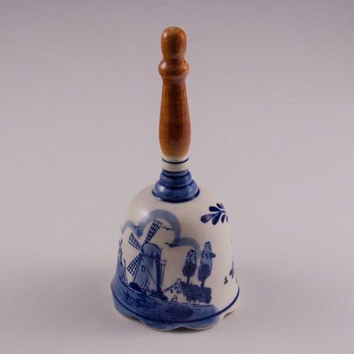 Decorative Bell Decorative Bell Netherlandsdelft Ceramics With Long Handle