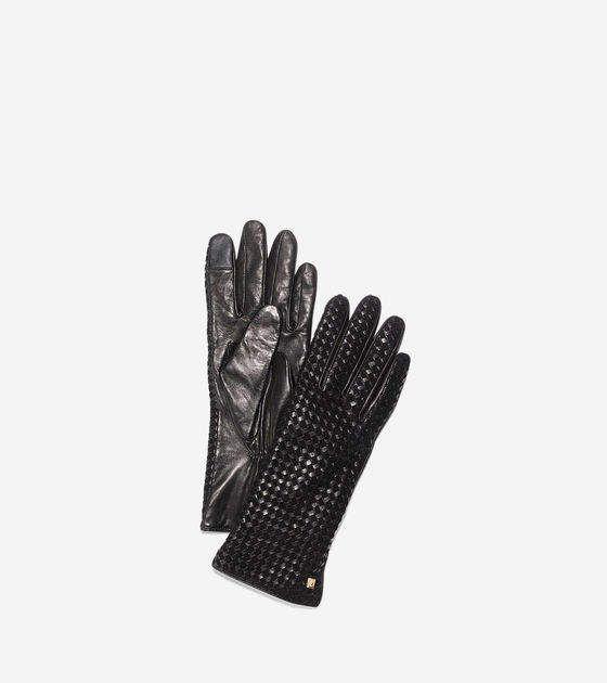 Men/'s Professional Style Driving Glove w// Snap Wrist Shorter Cuff SH729