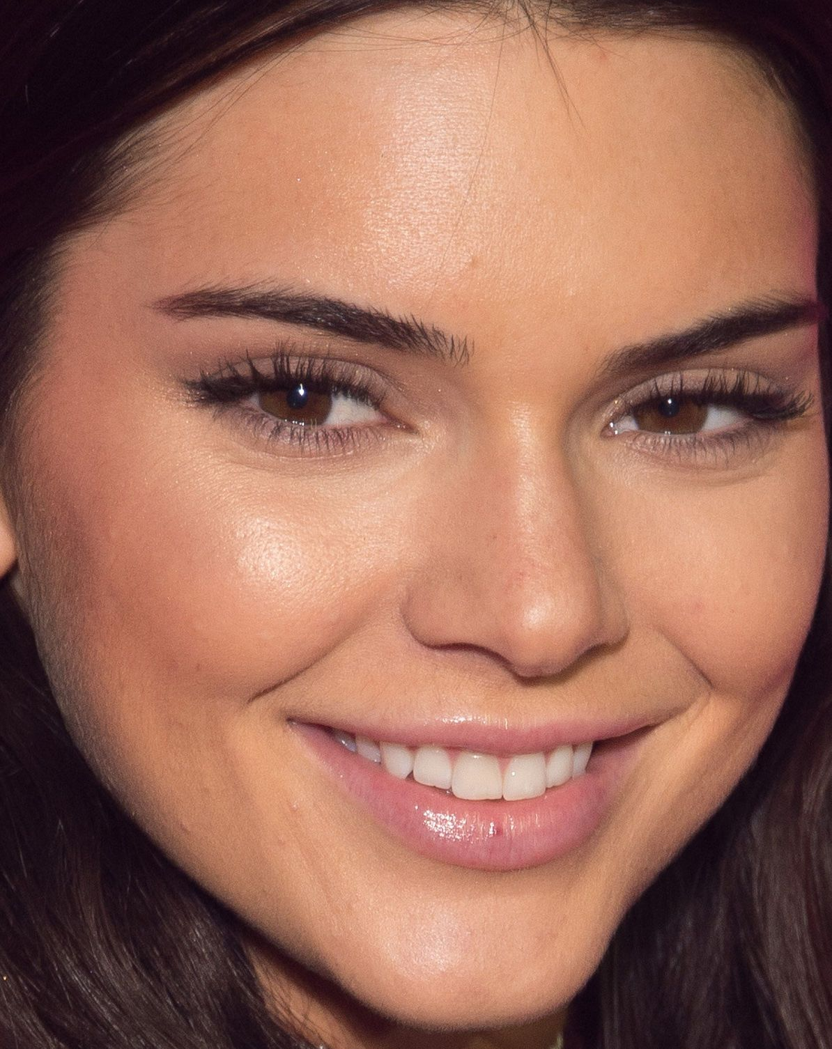 Close-up of Kendall Jenner at the 2016 Victoria's Secret Fashion Show After-Party.