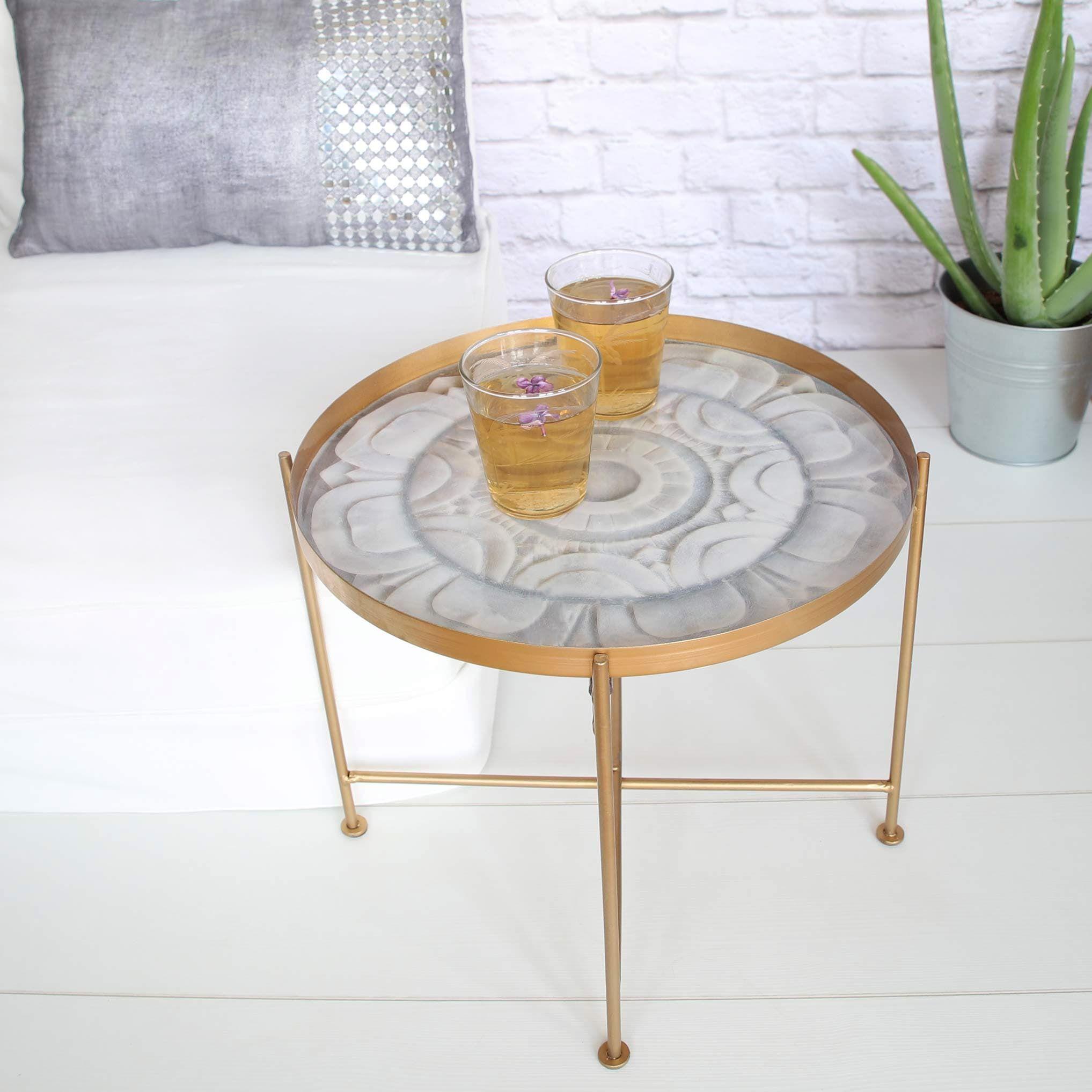 Tisch Marmor Optik \