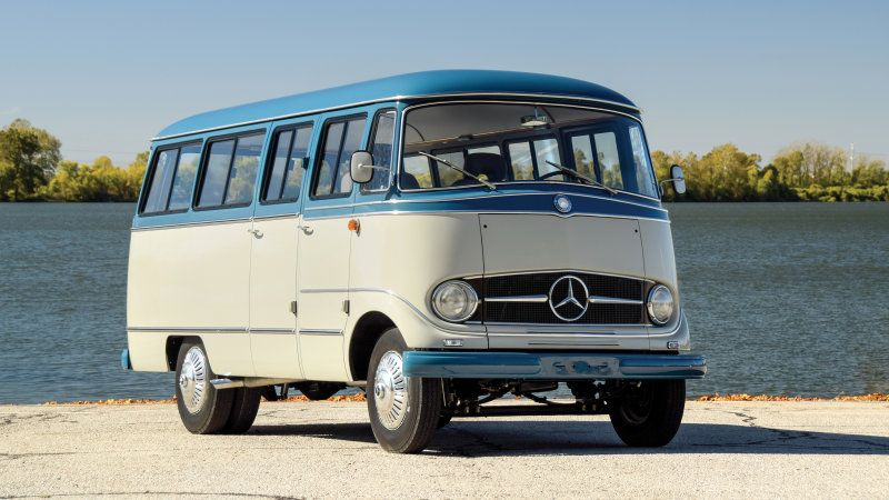Restomod Mercedes O 319 Camper Van Up For Auction By Rm Sotheby S