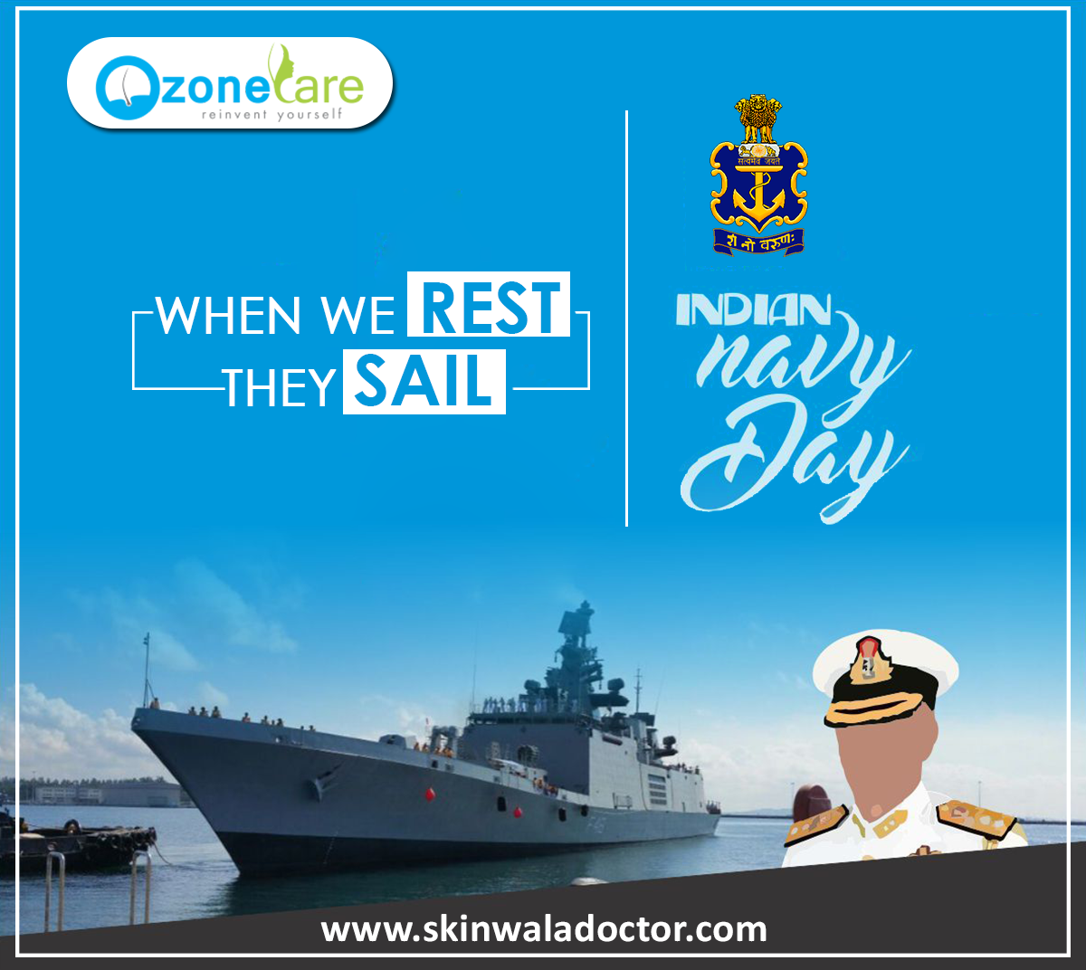 On The Occasion Of Indian Navy Day Let Us Thank Indian Navy For Their Dedication And Protection Let Us Take I Scalp Problems Laser Resurfacing Indian Navy Day