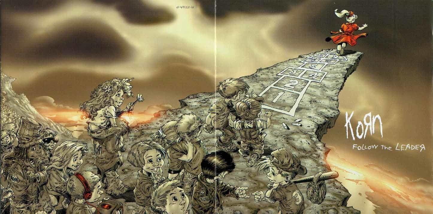 Korn Music Album Poster Band Music Korn 720p Wallpaper Hdwallpaper Desktop Korn Follow The Leader Led Zeppelin Music