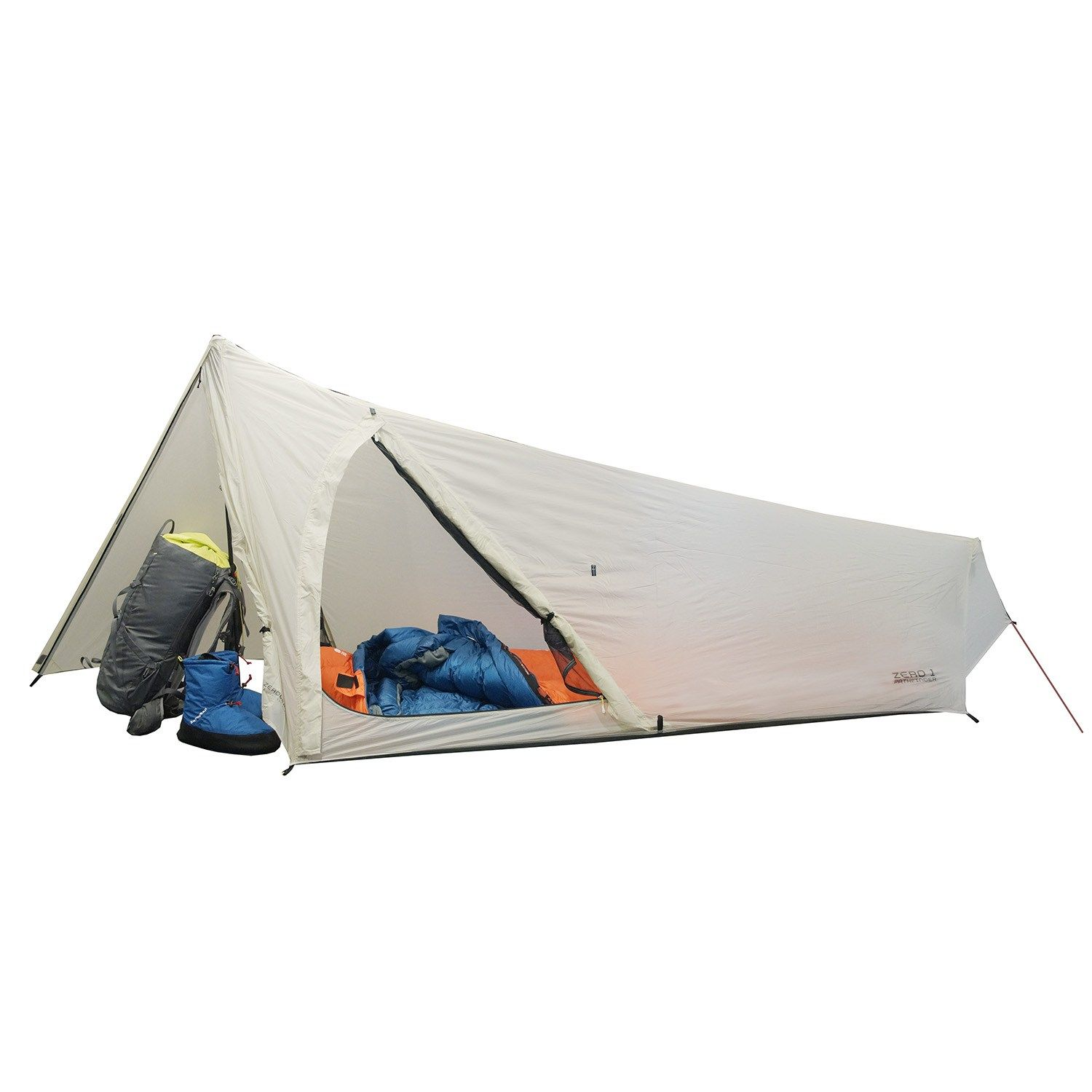Cover Zerogram ZERO1 Pathfinder Tent u2022 Ultralight single-wall design relies on 1 pair  sc 1 st  Pinterest & Cover: Zerogram ZERO1 Pathfinder Tent u2022 Ultralight single-wall ...