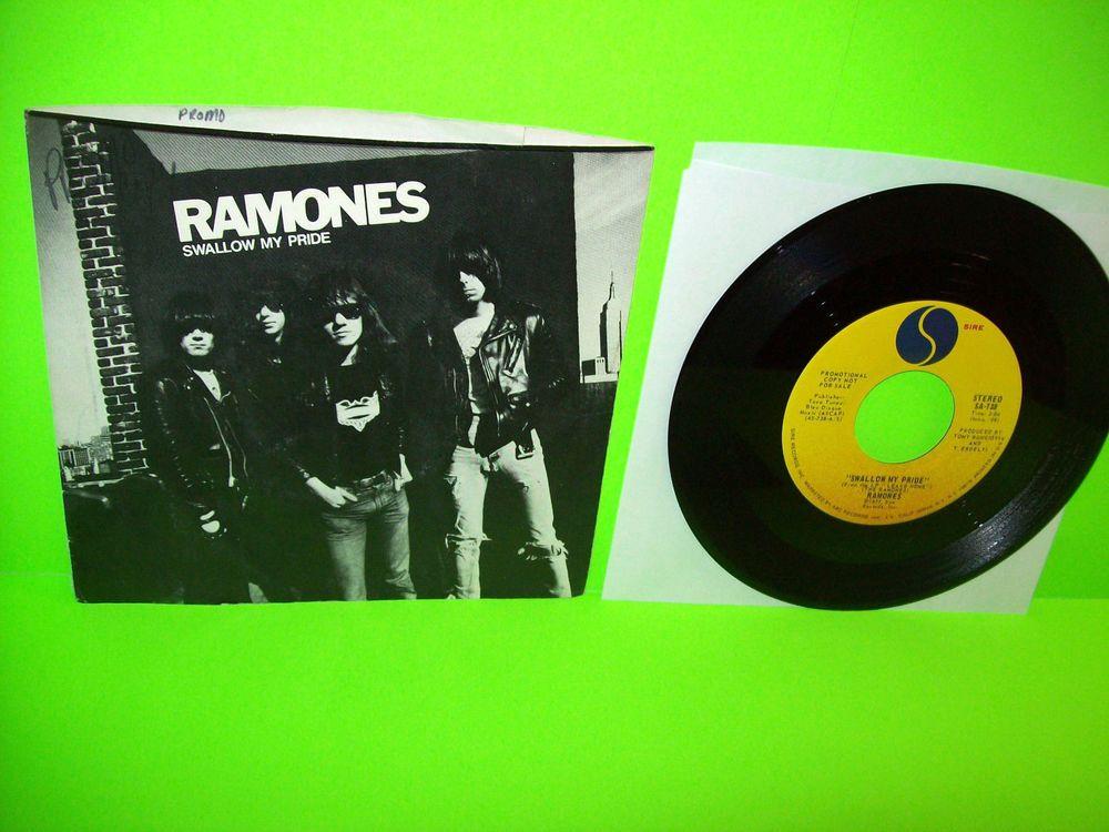 The Ramones Swallow My Pride