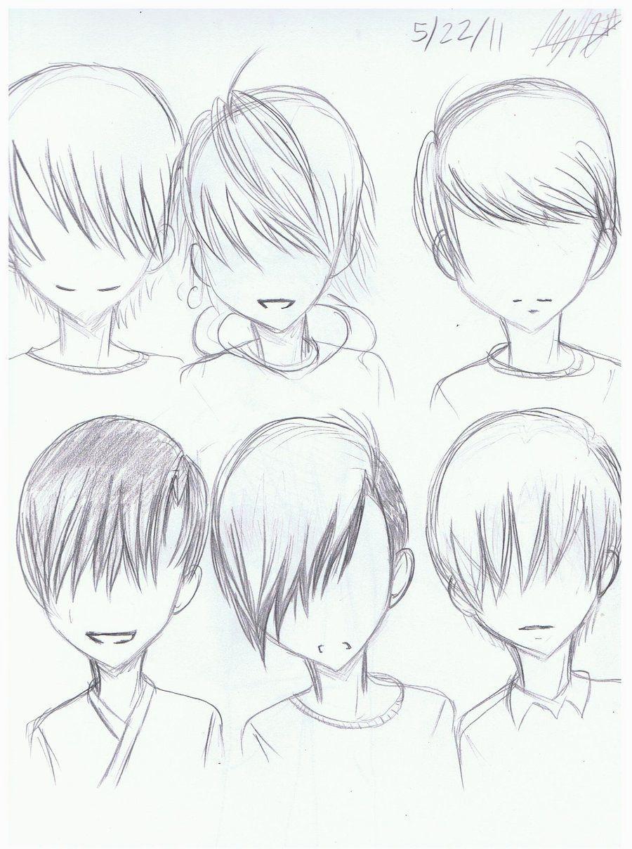 animehairstylessketchvaluable.jpg (900×1208) Anime