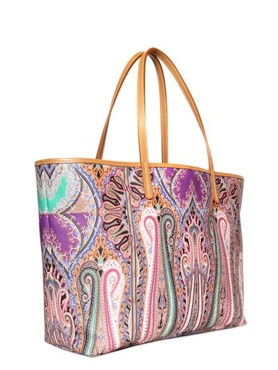 woven tassel tote bag - Multicolour Etro Outlet Popular Discount Ebay 2hweRei